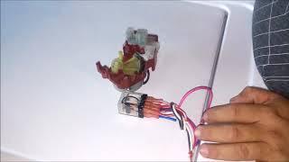 Adaptar Timer a lavadora electronica
