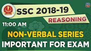 Non Verbal Series | SSC  2018 - 19 | Reasoning | 11:00 AM