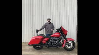 Stefan Describes the Customized 2020 Street Glide®  Special