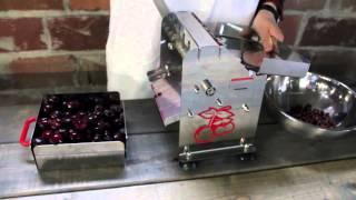 TSM Deluxe Cherry Pitter Demonstration