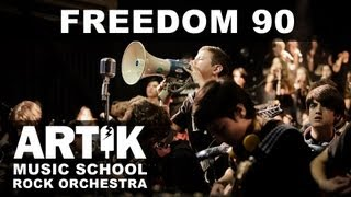 George Michael RIP  Freedom 90 Tribute Cover By Artik Rock Orchestra