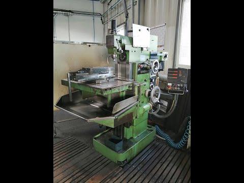 CNC freesmachine DECKEL FP4M 1987