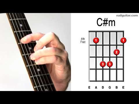 ♫♬ C# minor - Must Learn Pop & Rock Chords - Essential How To Play Guitar Skills