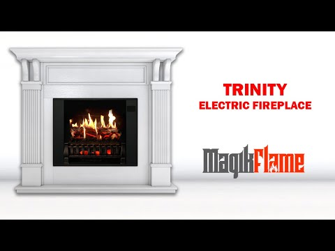 MagikFlame Trinity Electric Fireplace Review