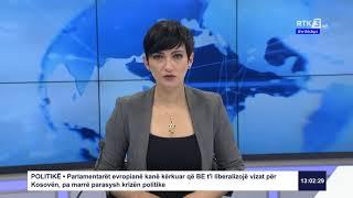 RTK3 Lajet e orës 13:00 03.04.2020