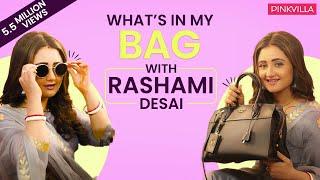 What's in my bag with Rashami Desai | S02E10 | Fashion | Pinkvilla | Bollywood