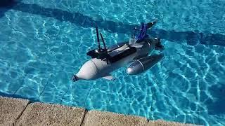 RC FPV DIY airboat - MARAUDER ADVENTURES - Part two: sailing -