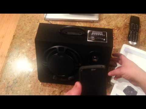 Bluetooth speaker system SDX AUDIO SPEAKER SYSTEM
