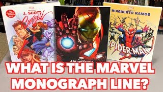 What Is The Marvel Monograph Line?