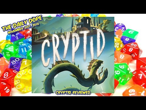 'Cryptid' Reviewed on The Daily Dope for November 21st, 2018
