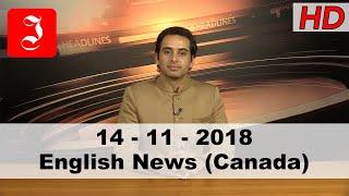 News English Canada 14th Nov 2018