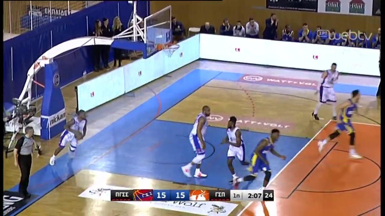 Basket League 2019-2020: ΠΑΝΙΩΝΙΟΣ – ΠΕΡΙΣΤΕΡΙ | HIGHLIGHTS | 18/01/2020 | ΕΡΤ