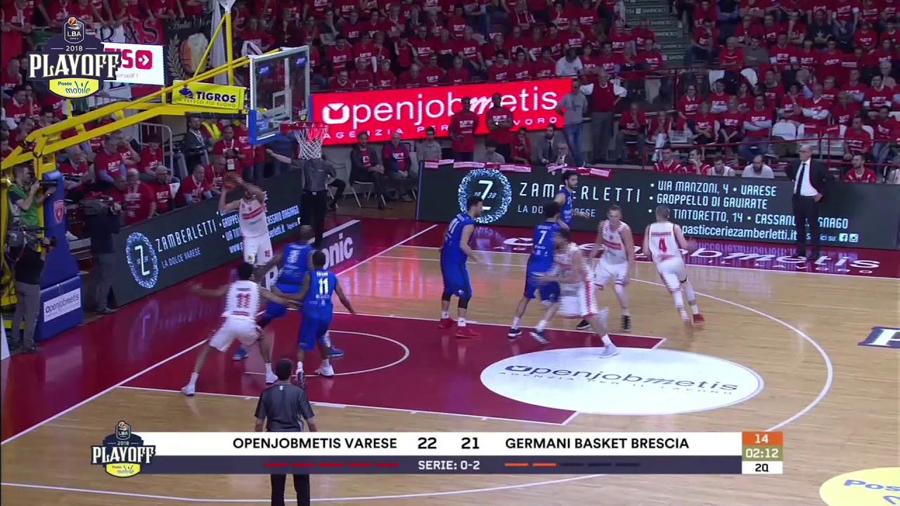 G3 LBA Playoff PosteMobile/ Openjobmetis Varese - Germani Basket Brescia 64-69