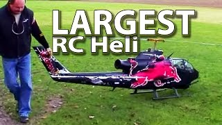Worlds largest RC Heli - Red Bull Cobra (hobby class turbine, Josef Schmirl)