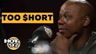 Ebro In The Morning - Too $hort Addresses Sexual Assault Allegations, Running From Police + 'Blow The Whistle' Success