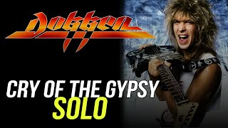 Dokken Cry of the Gypsy Every Solo Lesson!!! George Lynch - Lynch Lycks S3 Lyck 48