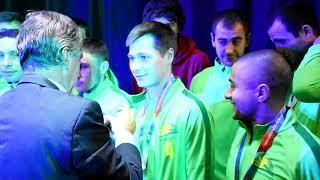 «СтавропольАгроСоюз» наградили за 2 место в чемпионате Ставрополья по футболу