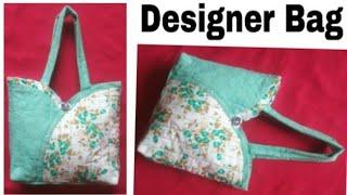 Designer bag ( Big size)/ Easy  Handmade bag ll Market bag  ll Bag banana #ShreeBhagwati