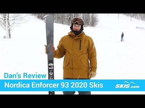 Video: Nordica Enforcer 93 Skis 2020 5 50