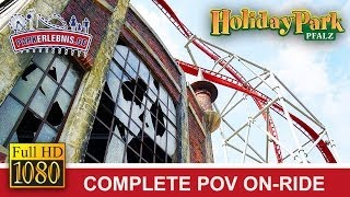 preview picture of video 'Sky Scream POV - Achterbahn OnRide im Holiday Park [FULL HD]'