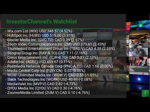 InvestorChannel's Media Watchlist Update for Friday, Febru ... Thumbnail