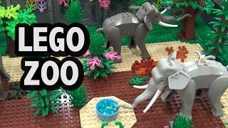 Custom LEGO Friends Zoo | Brickworld Indy 2017