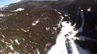 Paraglide flight over Bansko Bulgaria Video
