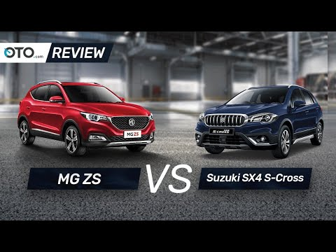MG ZS vs Suzuki SX4 S-Cross | Review | Pilih yang Mana? | OTO.com