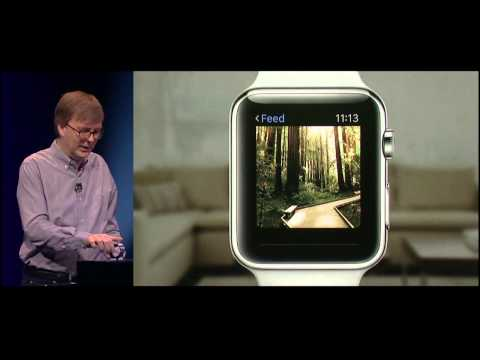 Apple Watch Demo by Kevin Lynch at Apple Special Event, March 2015