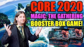 Let's Play The Magic: The Gathering Core Set 2020 Booster Box Game!
