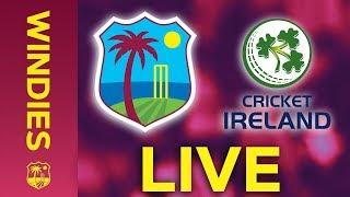 🔴LIVE West Indies vs Ireland | 3rd T20I 2020