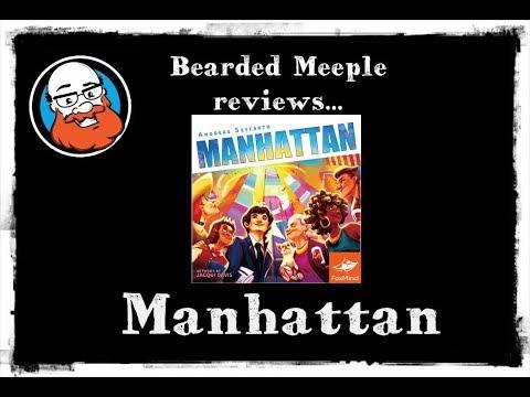 Bearded Meeple reviews : Manhattan