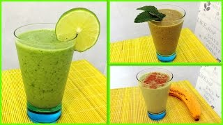 Green Smoothies - 3 façons