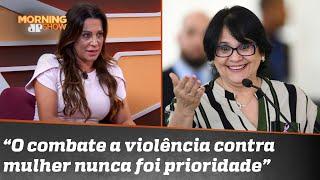 Gabriela Manssur elogia trabalho de Damares Alves