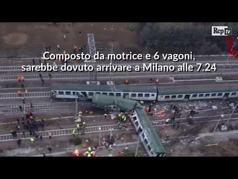 Treno deragliato a Pioltello: la video-ricostruzione dell'incidente