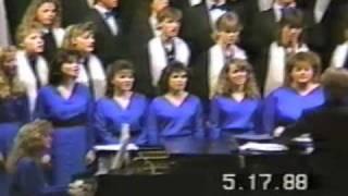 Escanaba Choir 1988