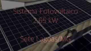 Sistema Fotovoltaico AMonica - 2,65 kWp / Sete Lagoas MG