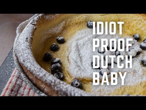 Idiot Proof Dutch Baby