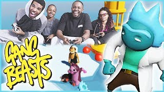 THE ICE IS MELTING! WHO WILL BE LEFT STANDING?? - Gang Beasts Gameplay