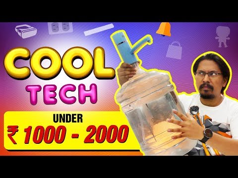 Cool Top Tech Under Rs. 1000 - 2000 |  New 2018 + GIVEAWAY
