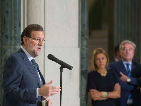 """Rajoy: """"España va a mantener una postura firme y constructiva con el problema de los refugiados"""""""