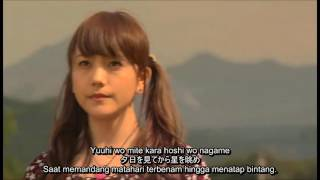 [MV] Ending ANOHANA (Secret Base - Kimi Ga Kureta Mono) Live Action Subtitle Indonesia