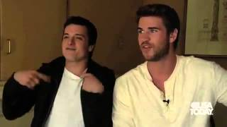 5 Questions With The Hunger Games Liam Hemsworth & Josh Hutcherson