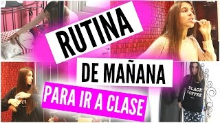 SCHOOL MORNING ROUTINE (otoño 2015) | Raquelreitx