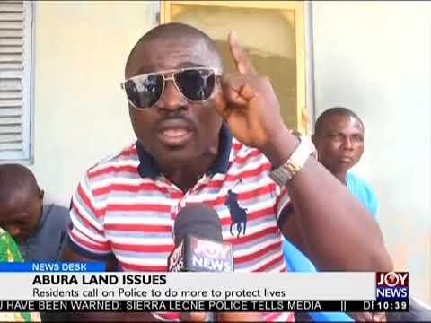 Abura Land Issues - News Desk on JoyNews (25-7-18)