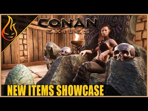New Items Showcase Conan Exiles