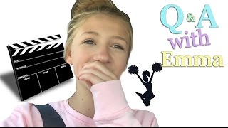 Q&A with Emma | Acting, Cheerleading, Brimstone & Foreign Subscribers