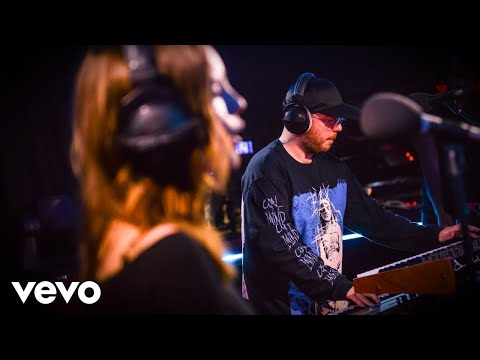 CHVRCHES - Somebody Else (The 1975 cover) in the Live Lounge