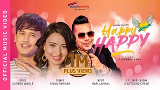 Happy Happy || Cartoonz Crew | Shiva Pariyar | Ft. Saroj/Aasma | Official Music Video