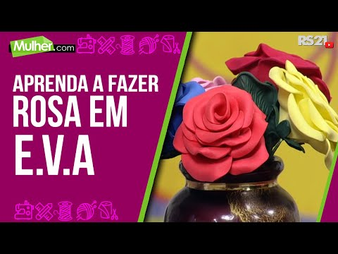 Rosa vermelha c/folha